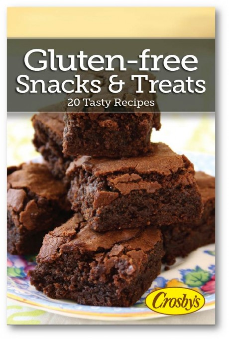 20 Recipes for Gluten Free Baking in a free eBook