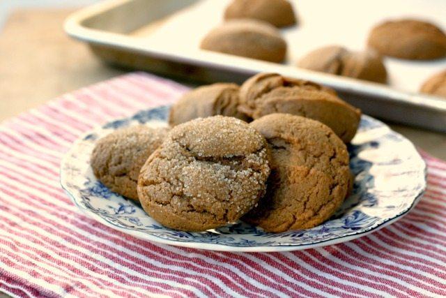 Simon's soft molasses cookies