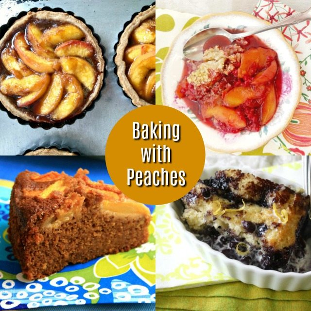 Baking with Peaches: 4 Favourite Summer Recipes