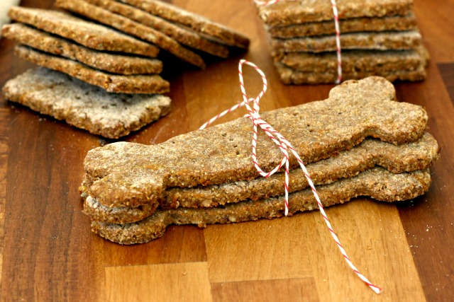 Homemade Cornmeal Molasses Dog Treats