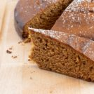 Economy Cake, a simple, moist molasses cake that's easy and inexpensive.