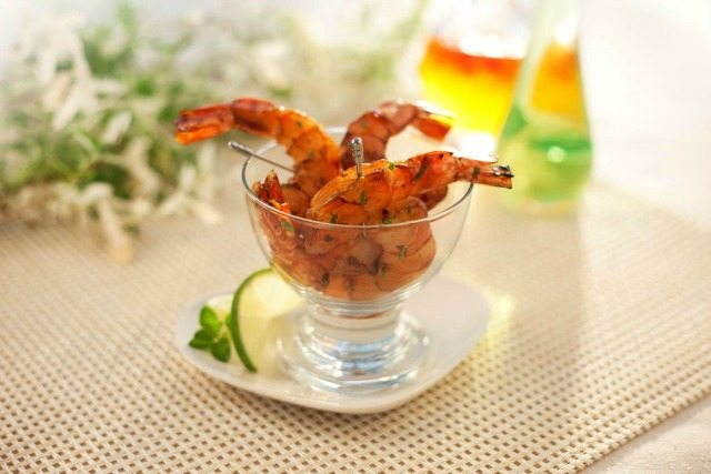 Molasses Shrimp