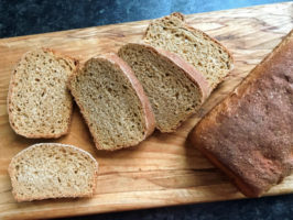 whole wheat molasses brown bread recipe