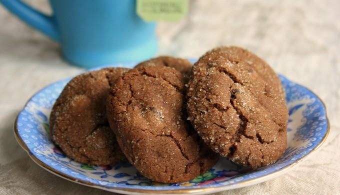 Chocolate Molasses Crinkle Cookies - Crosby's Molasses