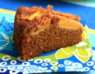 This Peach gingerbread recipe is moist and delicious. Gently spiced with ginger (a lovely match for peaches) this cake is perfect for juicy summer fruit.
