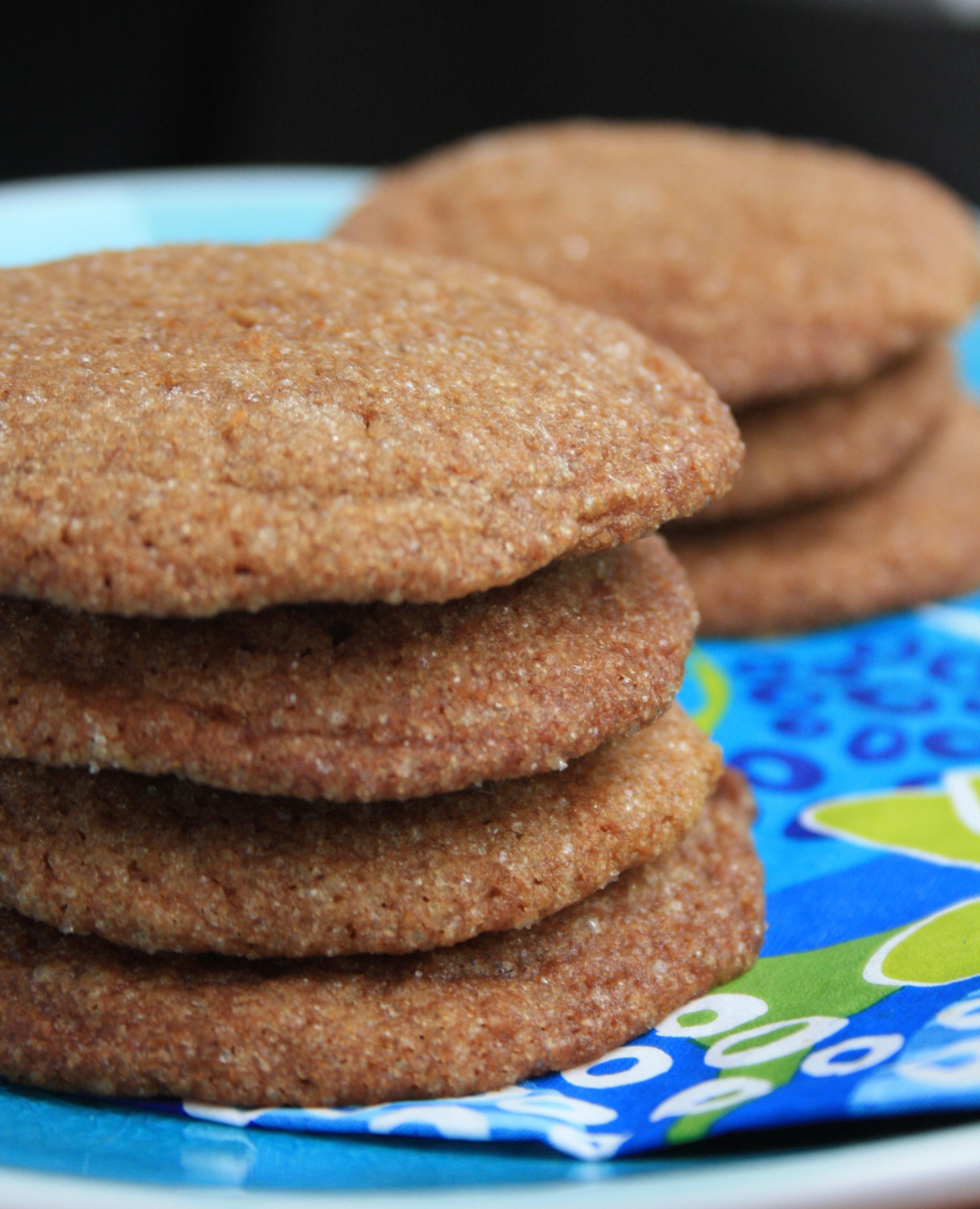 Coconut Flax Molasses Cookies Are A Tasty Vegan Treat Crosby S