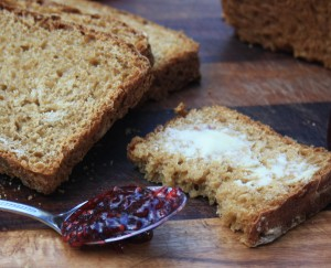 Easy oatmeal brown bread