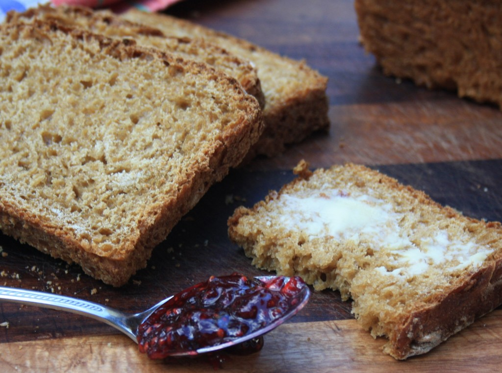 Easy oatmeal brown bread recipe is easy and flavourful thanks to molasses.