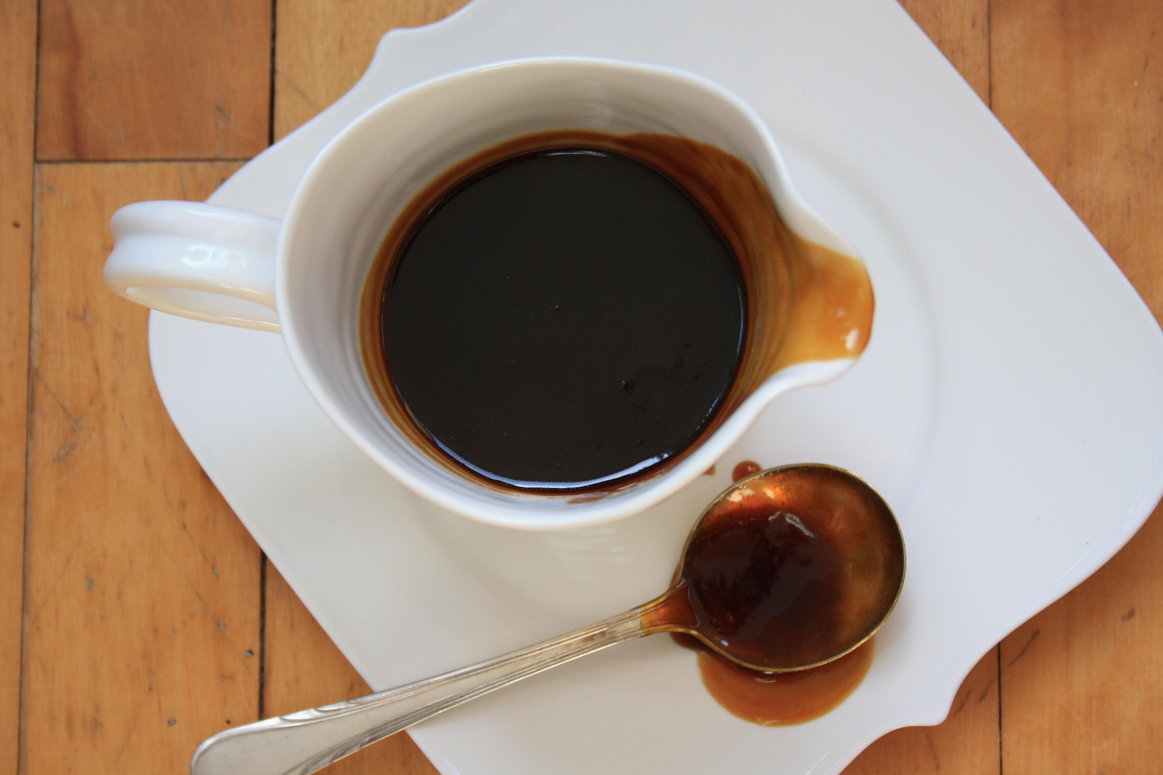 Coffee toffee sauce