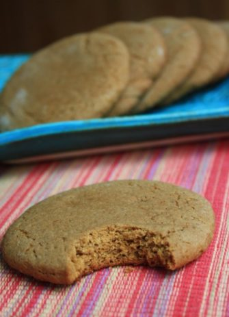 Katie's fat molasses cookies, an old fashioned soft molasses cookie that isn't too sweet.
