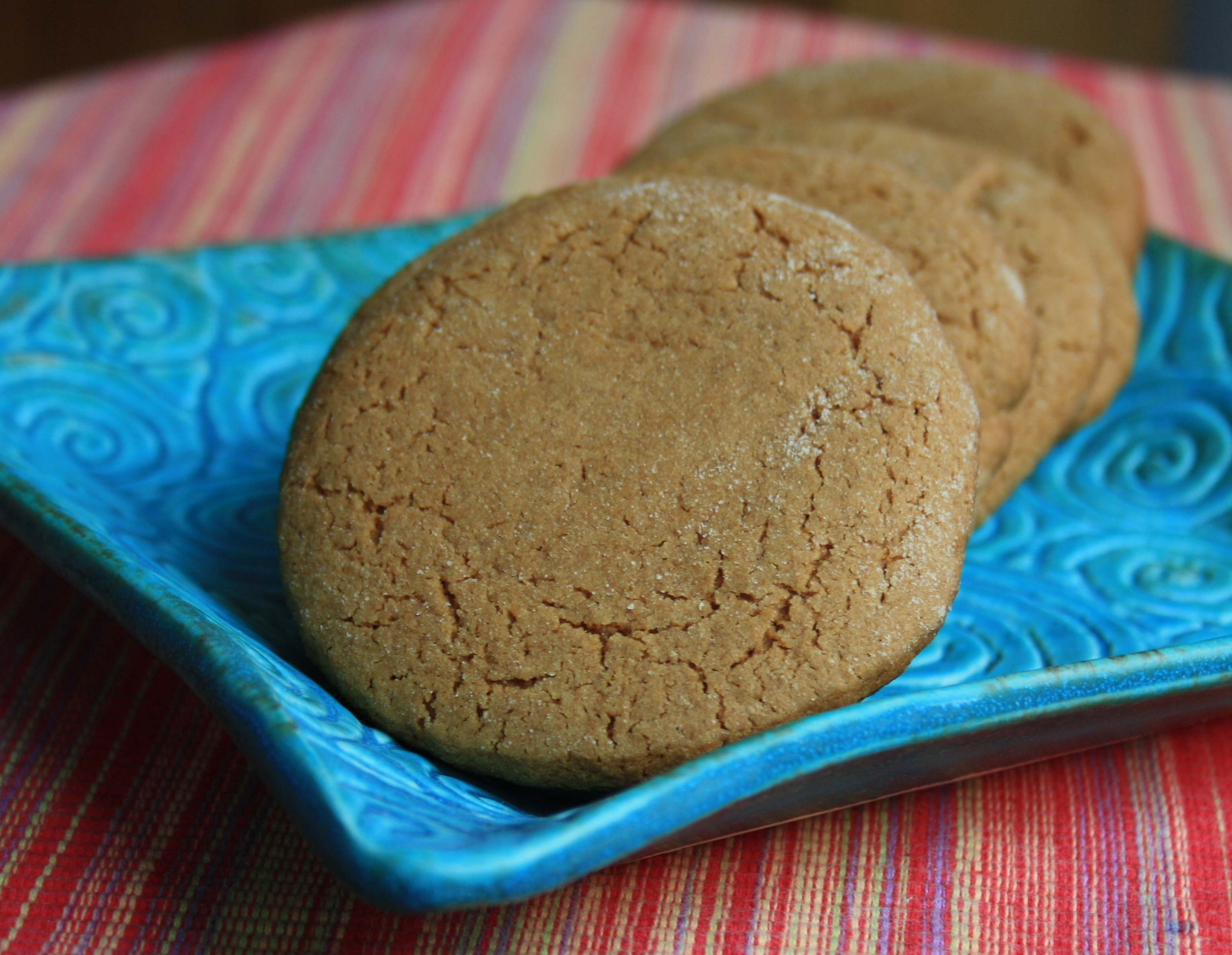 Katie S Fat Molasses Cookies Big Soft Comforting