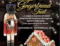 Crosby's Gingerbread Trail 2018