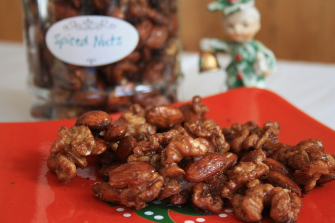 five spice candied nuts