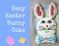 How to make an Easter Bunny Cake