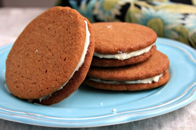 Kerrys brown sugar molasses cookies