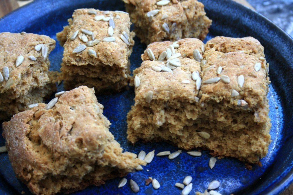 Sweet molasses scones and wholesome and buttery