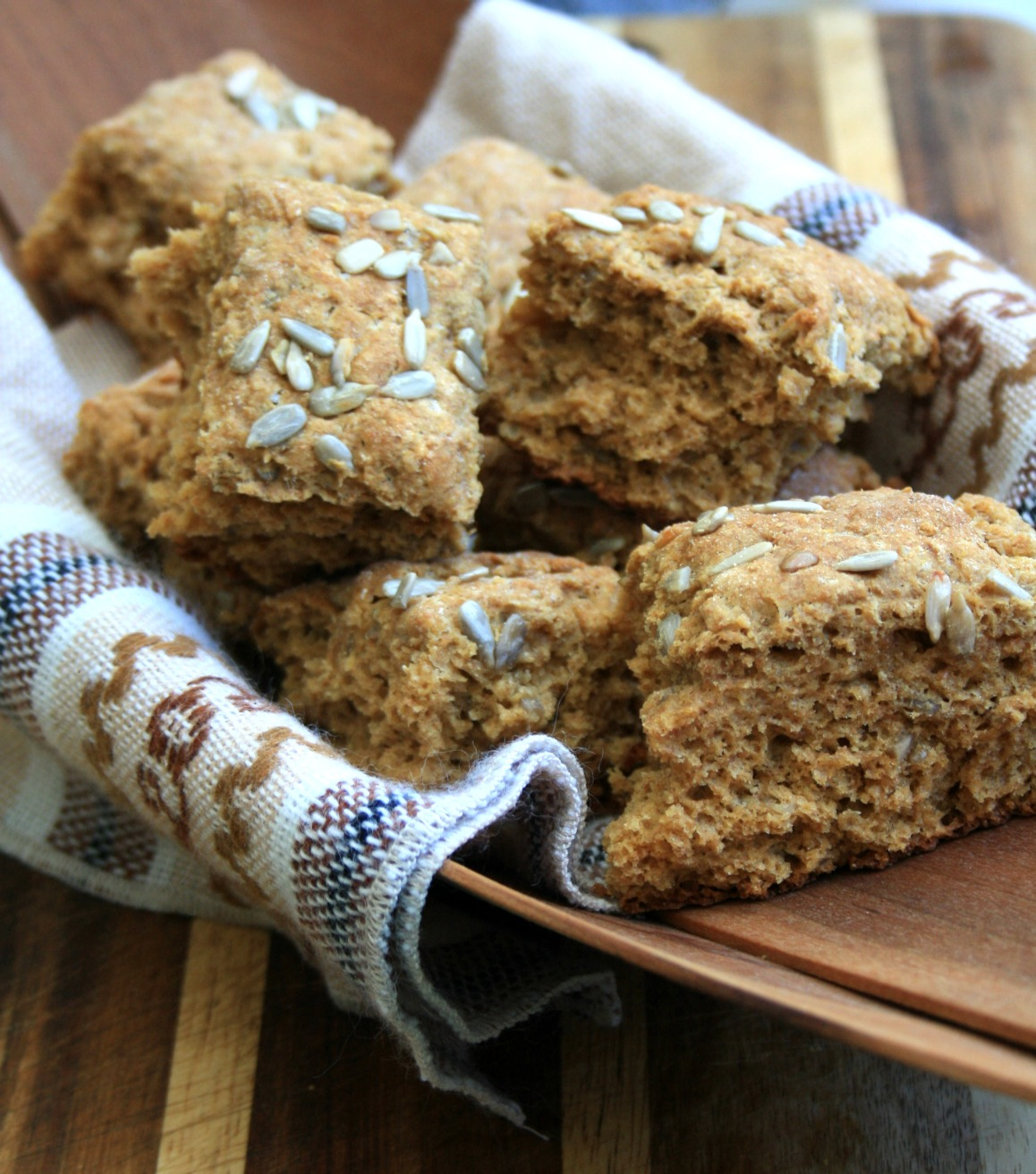 Molasses scones