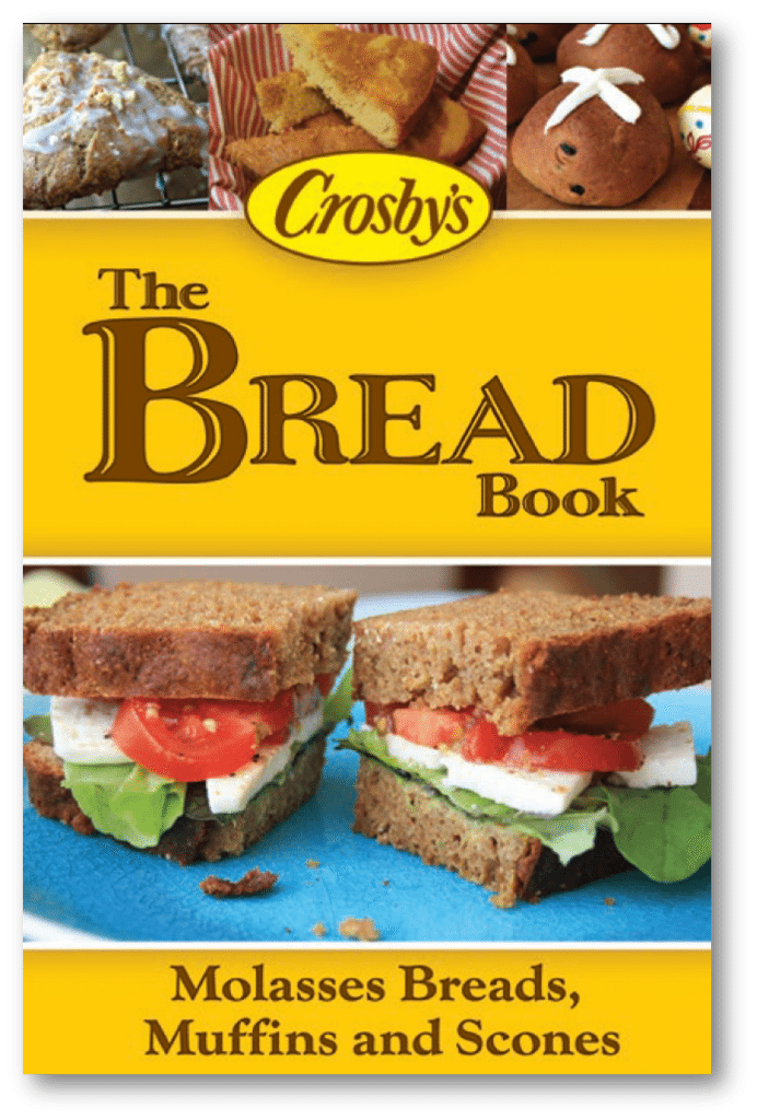 The Bread Book, a free e-book featuring 25 favourite bread recipes for yeast breads, tea breads, muffins and scones, all made with wholesome molasses