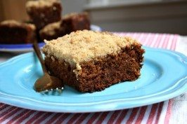 Molasses crumb cake