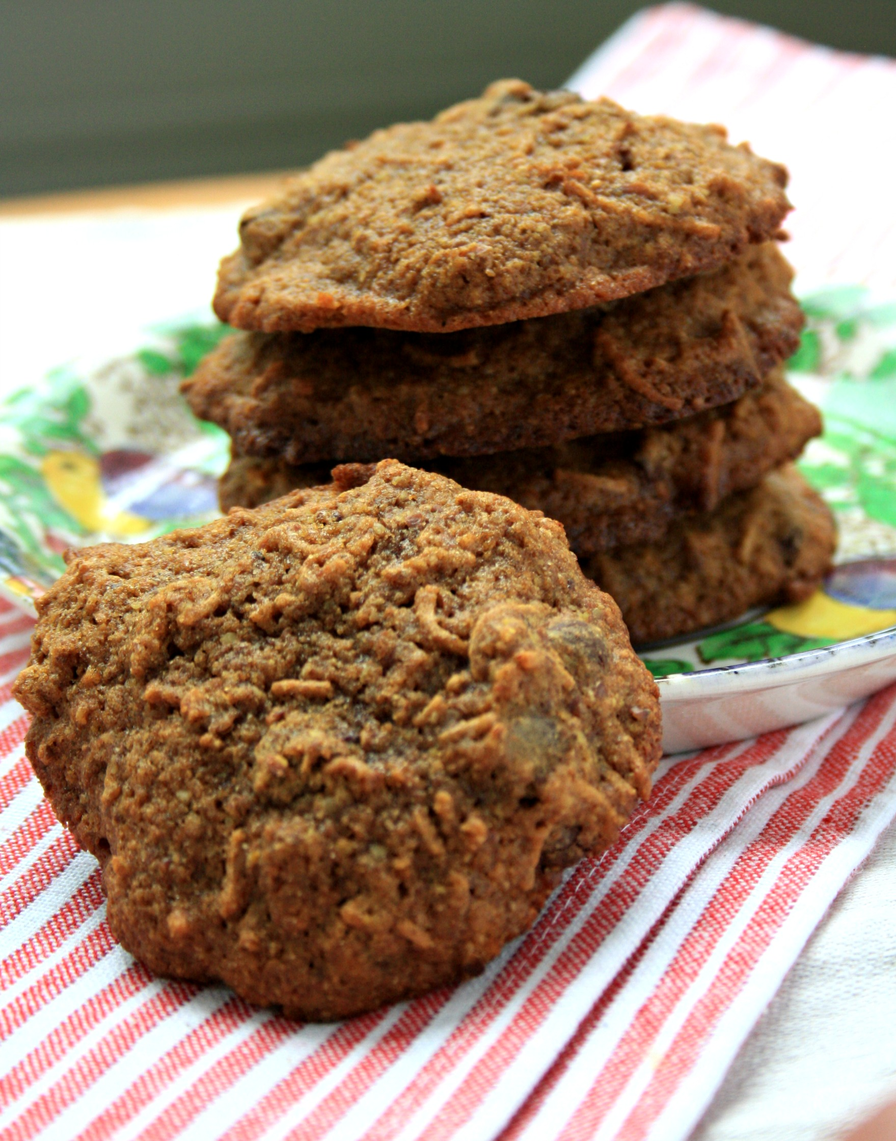 Healthy Breakfast Cookies with All-Bran Cereal