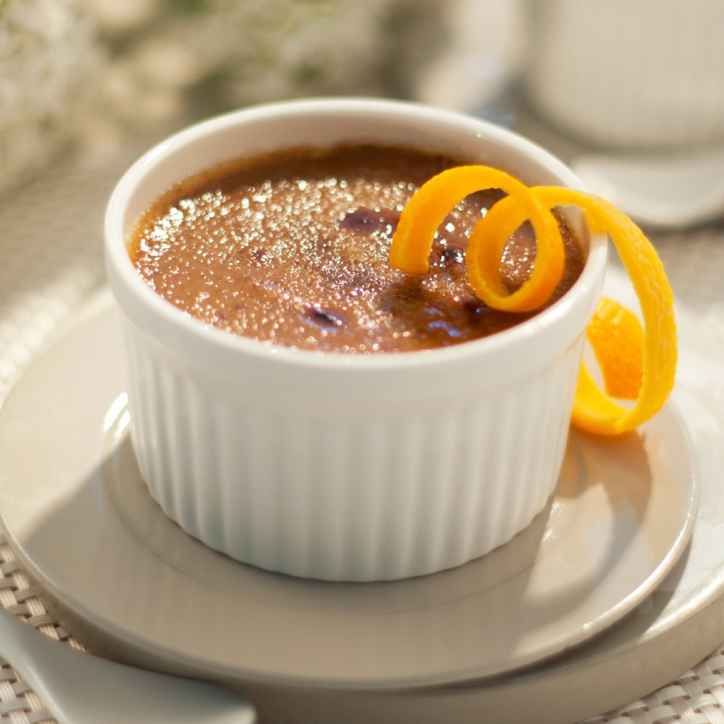 Pumpkin creme brulee for Thanksgiving dessert - Crosby's ...