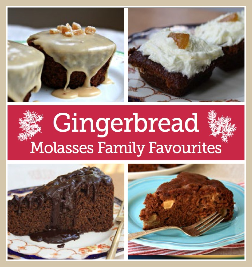 Gingerbread cravings - a free e-book featuring 18 recipes for gingerbread cakes and bars