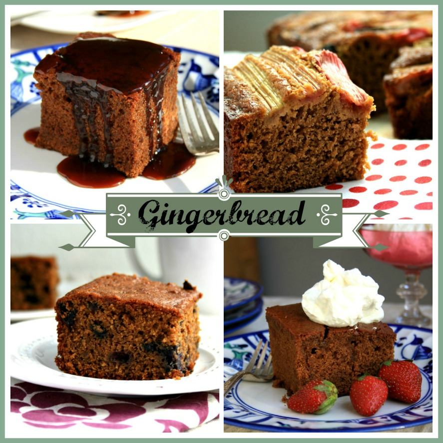 18 recipes for gingerbread cakes