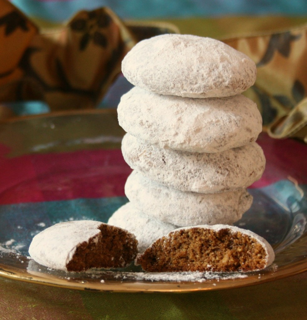 Pfeffernusse German spice cookies