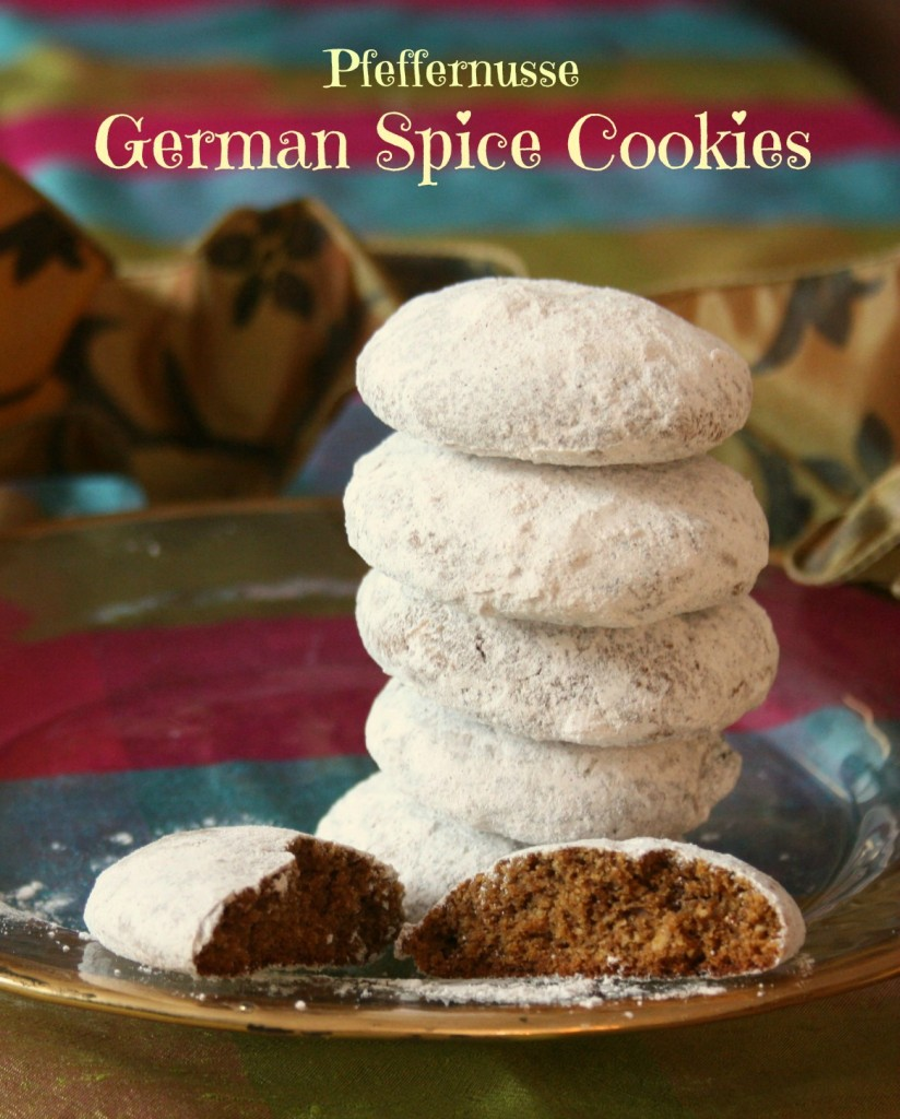 German spice cookies pfeffernusse