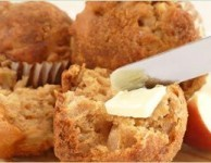 Apple Streusel Walnut Muffins