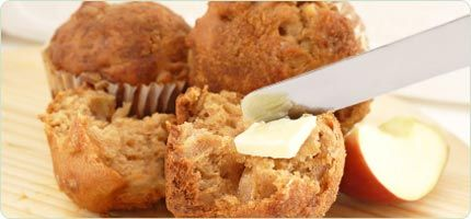 Apple Streusel Walnut Muffins