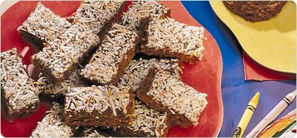 Molasses Coconut Chews