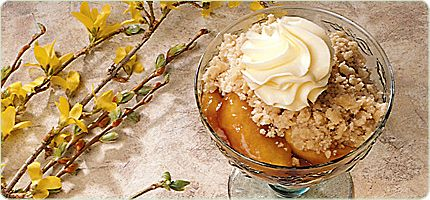 Molasses Apple Crisp