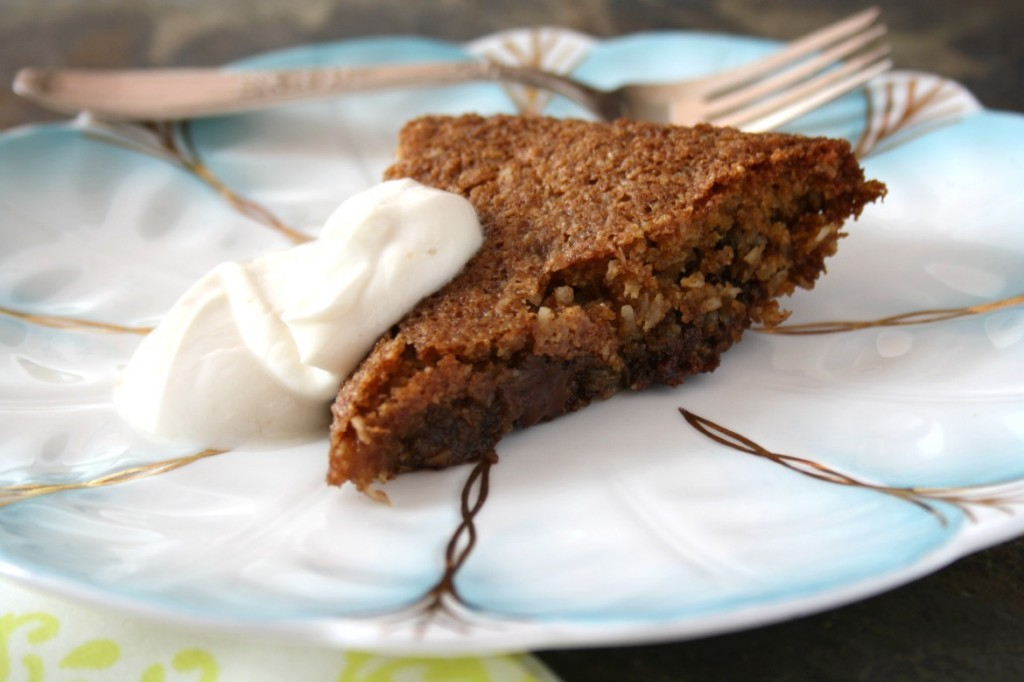 chocolate chip cookie pie is gluten-free