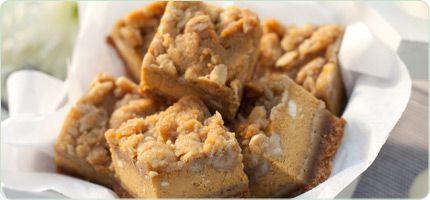 Gingerbread Pumpkin Bars