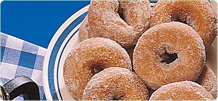 Molasses Doughnuts