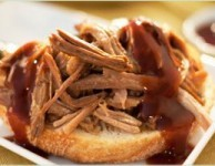 pulled pork with molasses