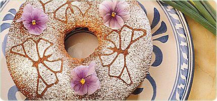 Molasses Sponge Cake