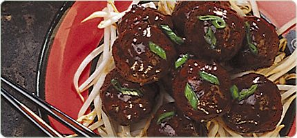 Garlic Sweet and Sour Meatballs