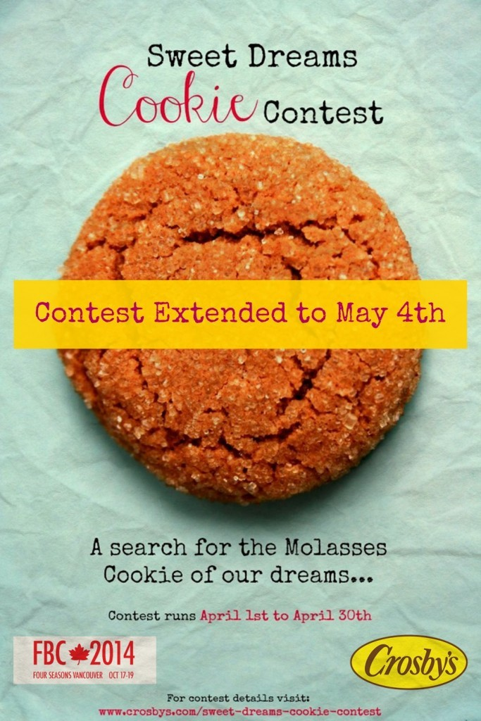 Sweet Dreams Cookie Contest Poster - Contest extended