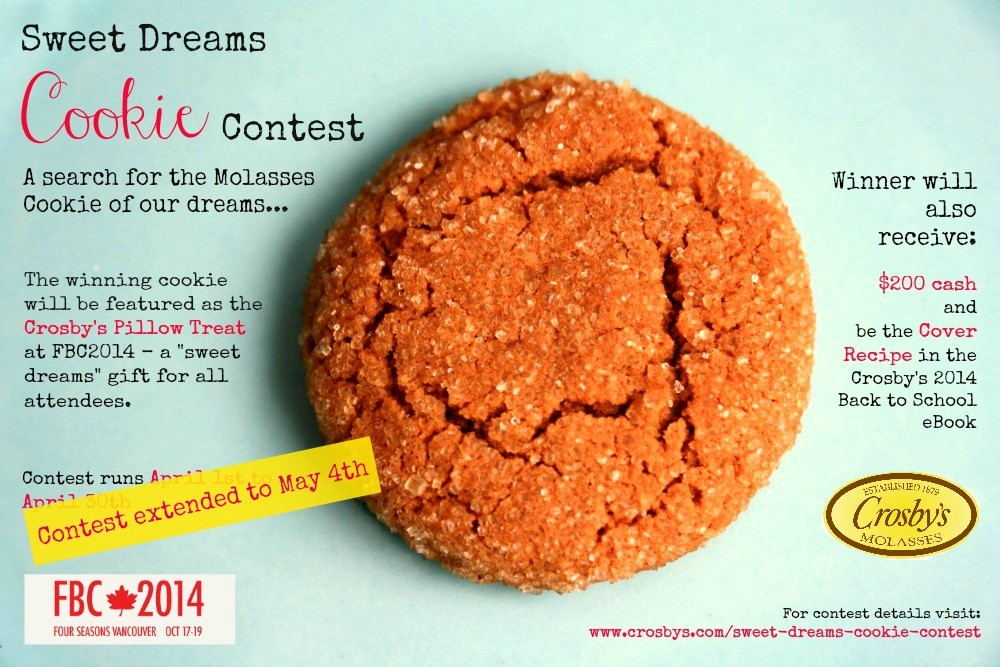 Sweet Dreams Cookie Contest - extended