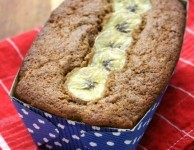 moist and delicious gluten free banana bread recipe, with molasses