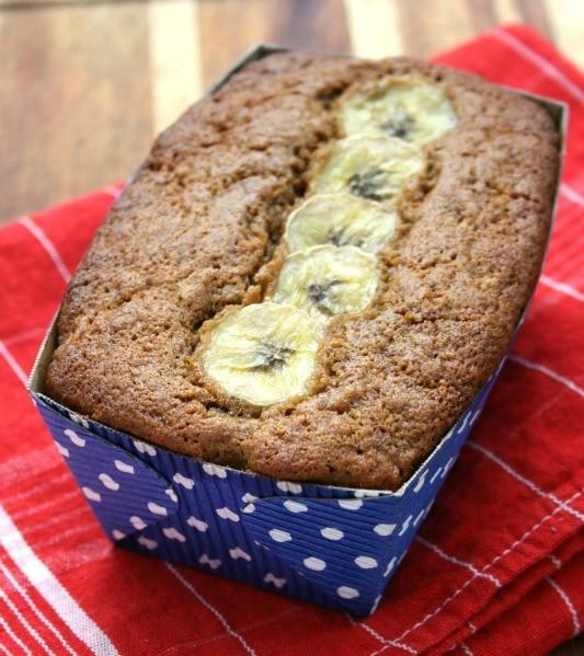 moist and delicious gluten free banana bread recipe, with molasses