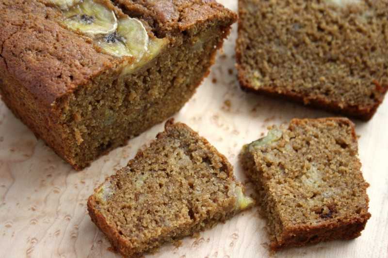 gluten free banana bread with molasses