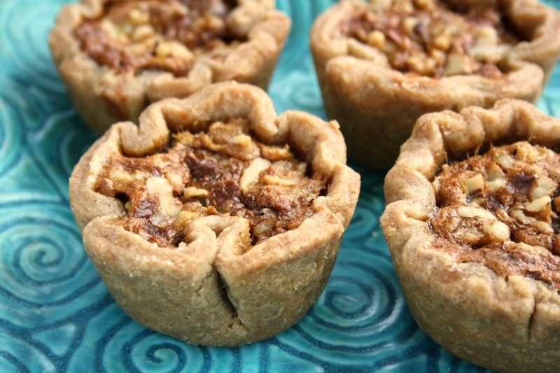 sweet and silky molasses butter tarts