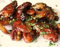 spicy molasses wings