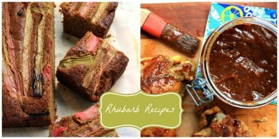 roasted rhubarb gingerbread and other rhubarb recipes