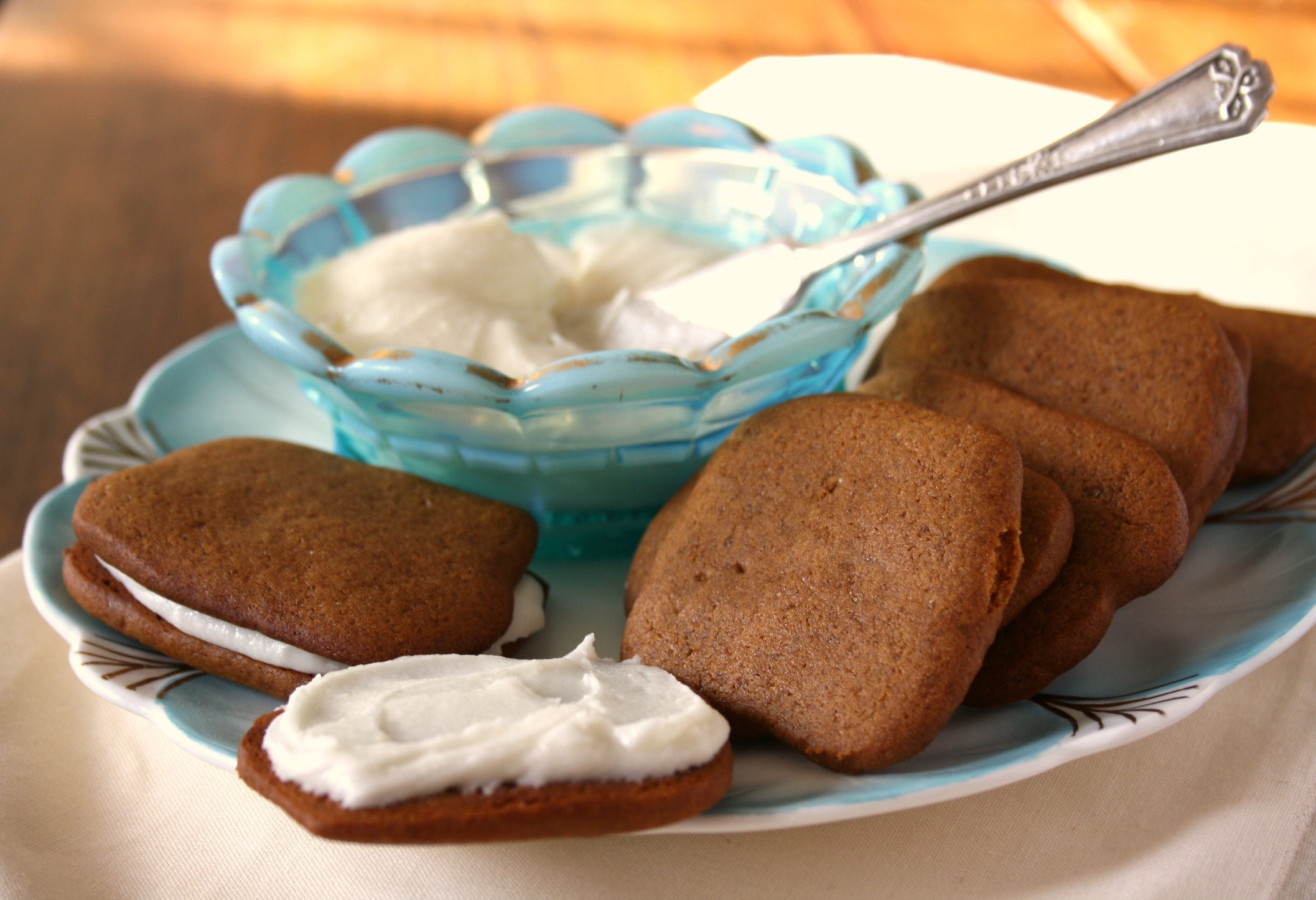 Some of the best gingersnap recipes are really old, from the days when ...