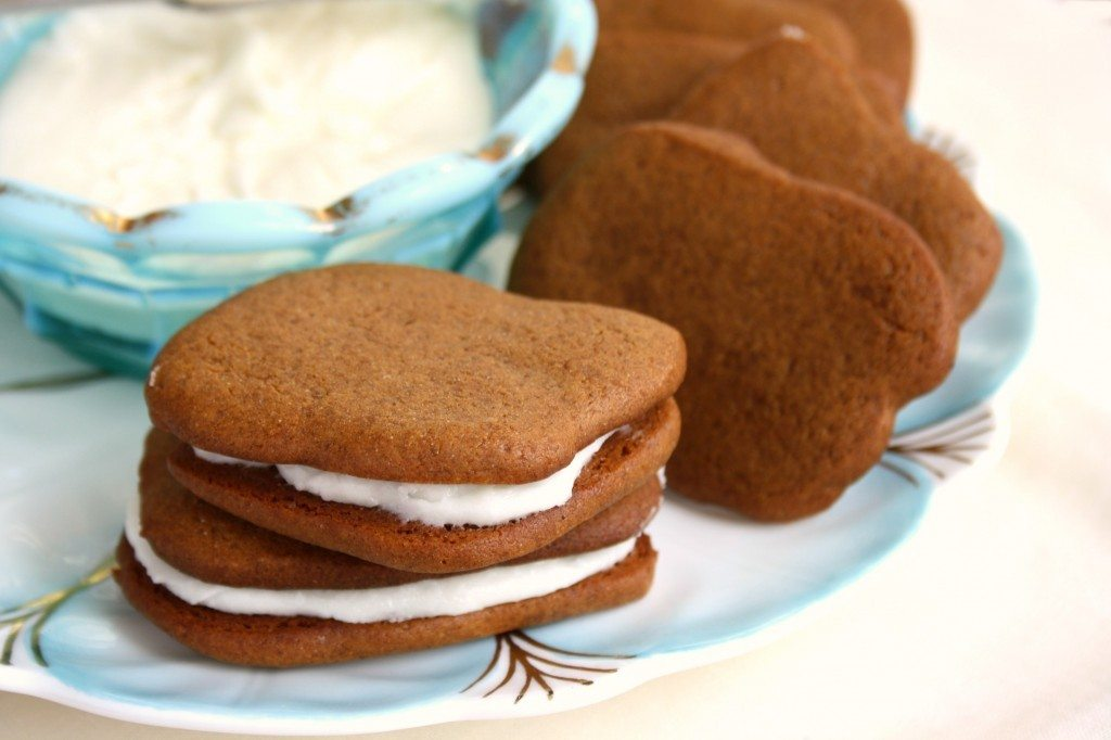 Marshlands Inn gingersnaps