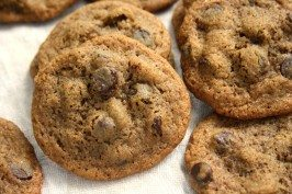 chewy molasses chocolate chip cookies
